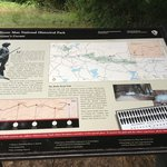 Informational sign along the trail