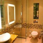 Full bath in suite