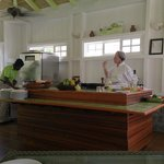 The chef instructor of our culinary tour
