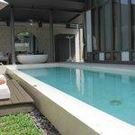 View as you enter the villa