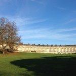 The famous Bath Crescent