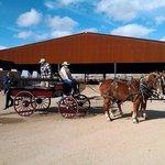 Wagon at AMERICAN RANCHES Prescott