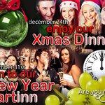 Xmas dINNer & New Year partINN