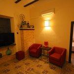 Living Area of Rocinante Suite