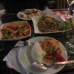 Really good food at Bamboo Bar & Restaurant
