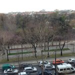 View of Stadtpark and Ring from Room 510