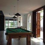 pool/tv area