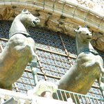 Two of the Constantinople replica horses