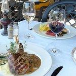 Diner sur la terrasse