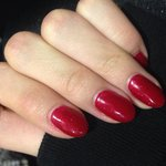 Beautiful Xmas nails!