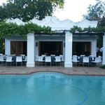 Poolhouse braai time