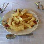 Oceano restaurant yucca fries = yummy