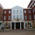 Main Entrance of Mercure Exeter Southgate Hotel