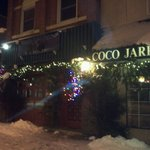 Cocos in the snow!