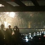 National Day fireworks..view from Azura
