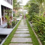 Walk way to Hotel, Ropanha Boutique Hotel