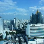 Another Bangkok City View from our suite.