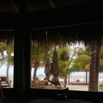 View from Mawimbi's El Barquito restaurant.