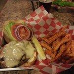Shroom and Swiss Burger