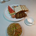 """My """"Chinese"""" breakfast at the first day"""