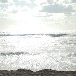 vue de la mer le matin