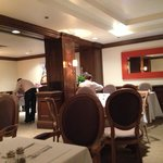 Nice intimate dining area for continental breakfast