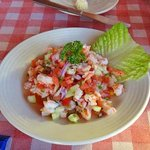 Look at that Ceviche! It's as good as it looks. Believe me!