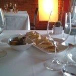 tavolo e pane