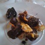cinghiale funghi e tartufo