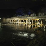 Bridge illuminated