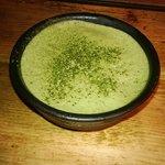 Riquísimo tiramisú de te verde
