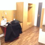 wardrobe and table