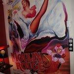 fresque Moulin Rouge