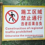 Seven Dragon Pools path closed