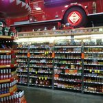 Hot sauce section
