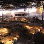 Vista general de la excavación