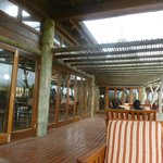 The Terrace of the Game Lodge Dining area
