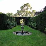 well-kept peaceful gardens