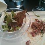 La véritable feuille de chêne dans la salade! La grande classe....