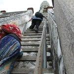 LA tostissima scalinata