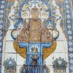 Cerámica en la Basílica del Prado