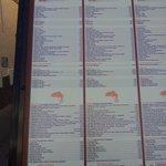 Carta y menu