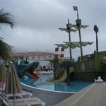 pirate ship in kids area