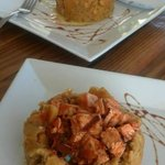 Shrimp and Chicken mofongo
