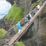 Rope Bridge on way to Giant's Causeway