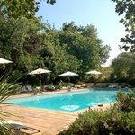 château hermitage piscine chauffée