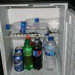 stocked in room refrigerator