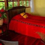 One of La Paloma Lodge's guestrooms in Drake Bay Costa Rica