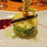 Tartara di kiwi e ananas