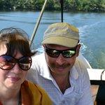На лодке по острову